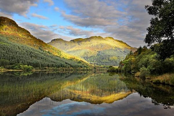 Loch Eck by stokesy