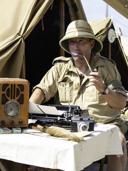 War Correspondent by doverpic