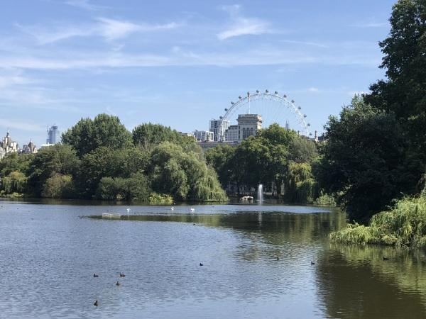 London eye by Katmc3