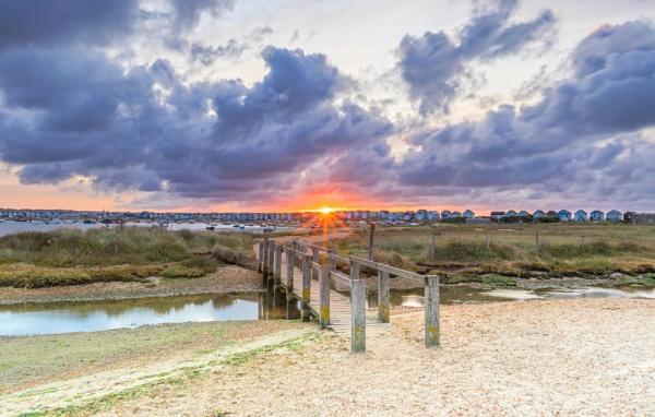 Mudeford Spit Sunrise by NickLucas