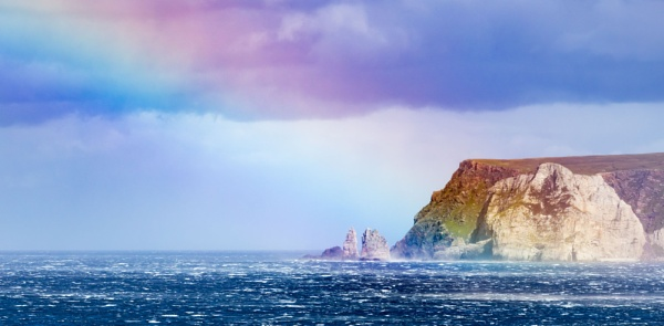 Coastal Rainbow. by Alex64