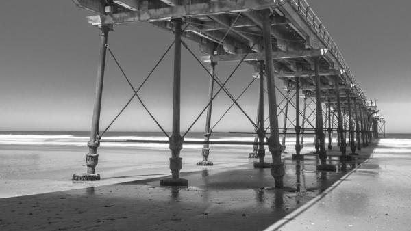 Under Saltburn Pier by Bore07TM