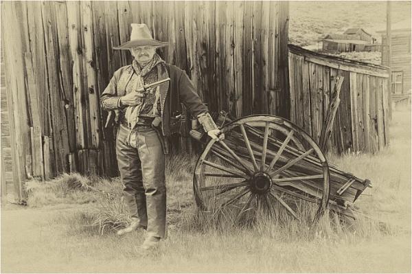 Wild West Cowboy by dven