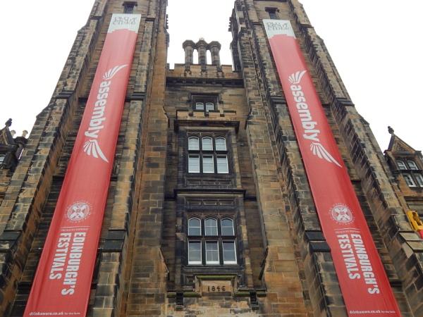 Edinburgh old building by KieranW