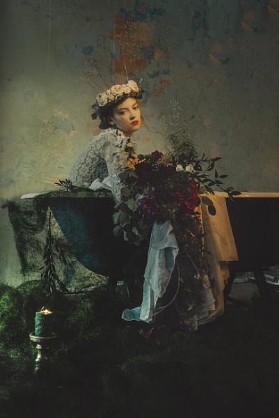 Felt in bloom by cristinavenedict