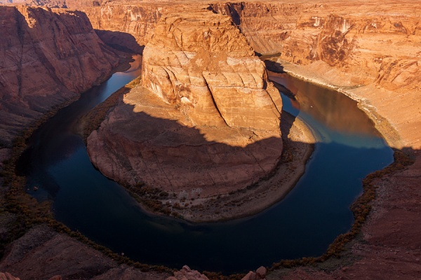 Sunset over Horseshoe Bend in Arizona by Phil_Bird