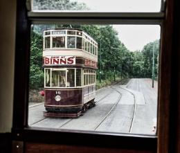 Tram from a tram