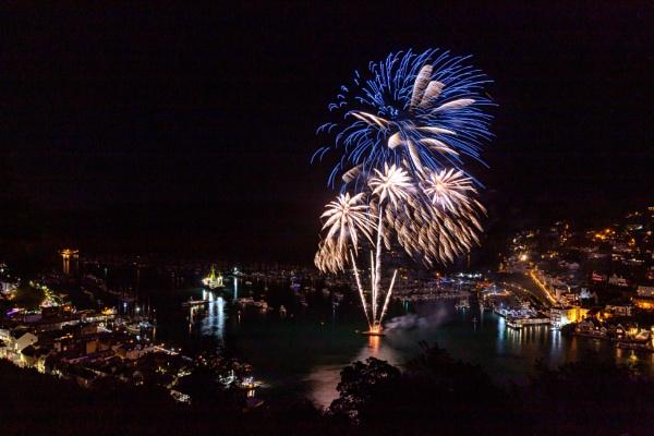 Dartmouth Regatta Fireworks by Arvorphoto