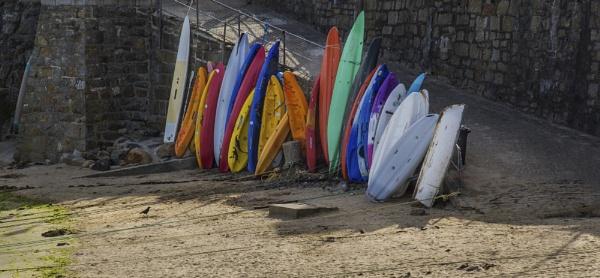 Mousehole Surf Boards by Irishkate
