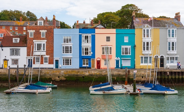 Colourful Weymouth by Belleyeteres