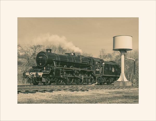 44871 Stanier Class 5 4-6-0 locomotive by Toobi_Won