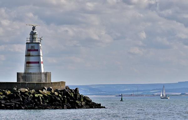 Pilot pier Headland Hartlepool. by georgiepoolie