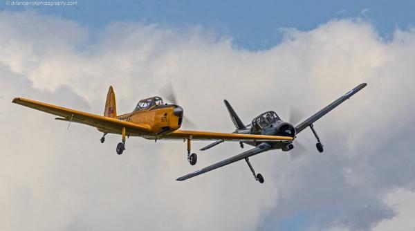 De Havilland Chipmunk & Percival Provost at Old Warden by brian17302