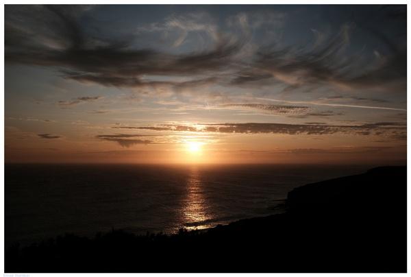 Sunset at Mullion, Cornwall by TT999