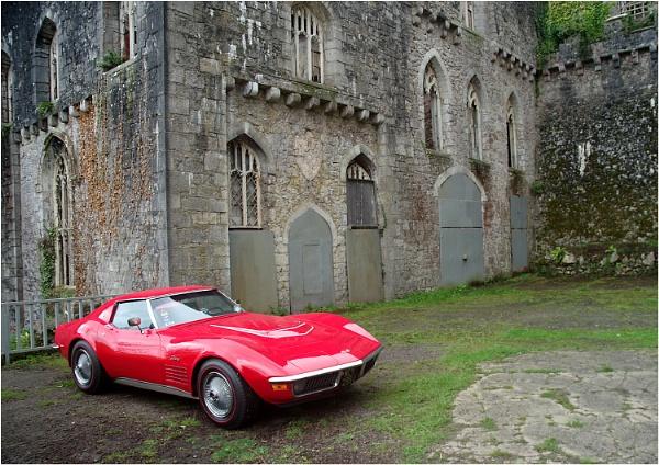 Corvette a la Gwrych by johnriley1uk