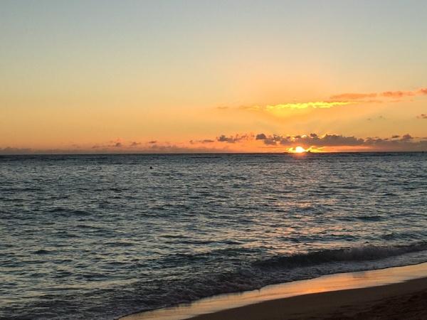 Sunset Waikiki by Ninjacam