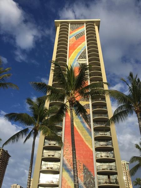 Rainbow Tower, Hilton Hawaiian Hotel by Ninjacam