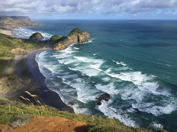 Muriwai and Bethels Beaches by Ninjacam