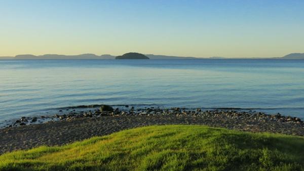 The Shore of Lake Taupo, New Zealand by Ninjacam