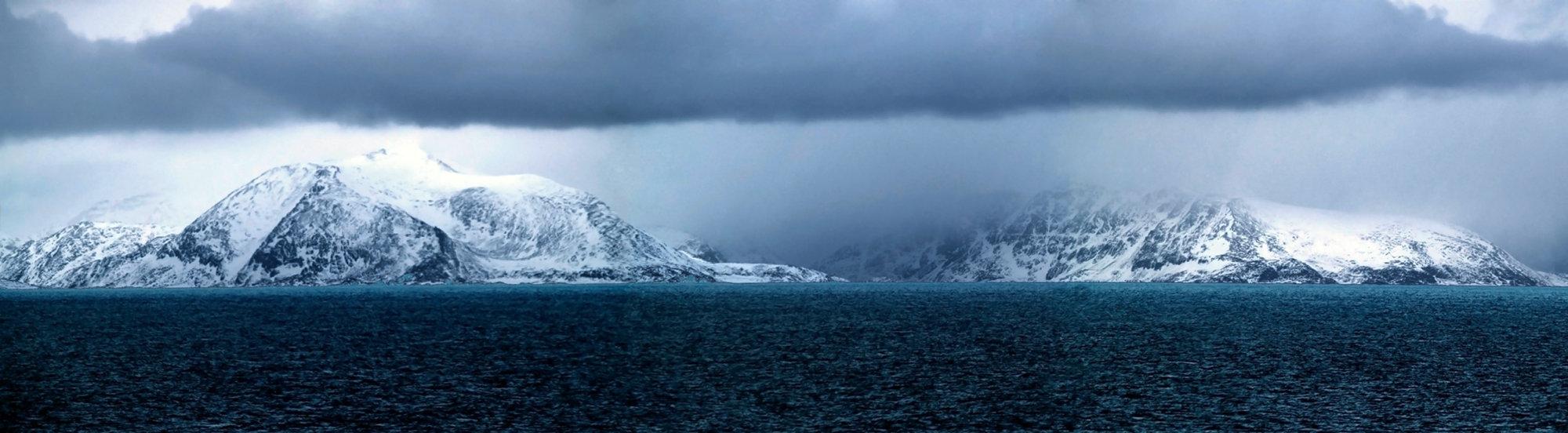 Norway's North Sea coast.