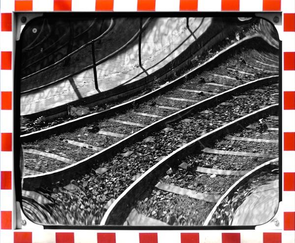 Tram Tracks again by FotoDen