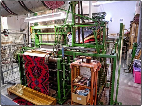 Carpet Weaving Loom by ThePixelator