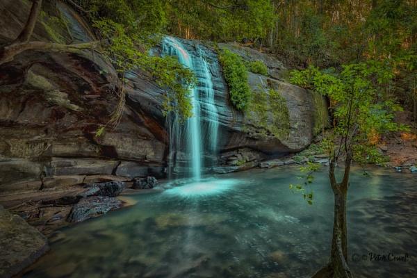 Buderim Falls by Peco