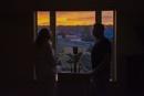 Watching a sunset by jbsaladino