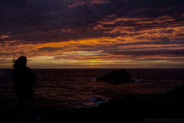Sarah & Sunset by Alan_Baseley