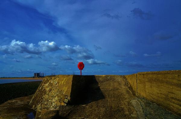 The red lifebuoy. by georgiepoolie