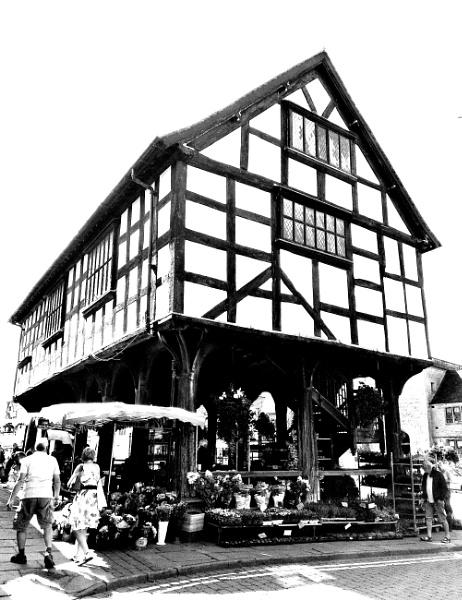 Ledbury market place by dixy