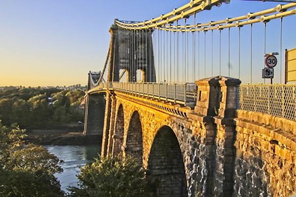 Menai bridge by pks