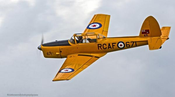 Royal Canadian Air Force De Havilland DHC-1 Chipmunk 22 by brian17302