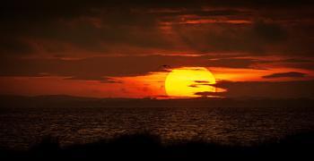 A Stunning Port William Sunset