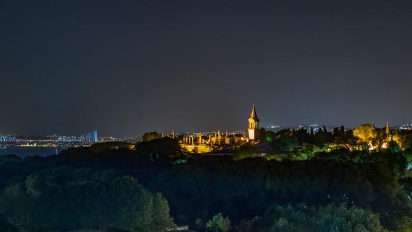 Topkapi at night