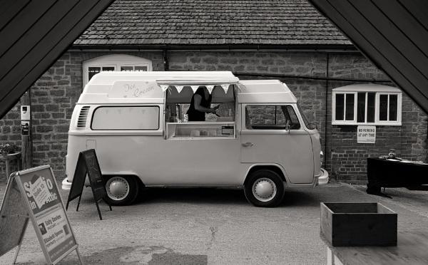 VW Camper (Ice Cream) Van by starckimages