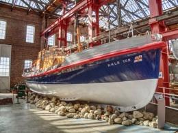 Lifeboat T.G.B, Scottish Maritime Museum, Irvine