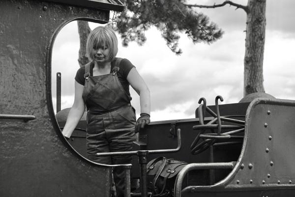 Steam engine driver. by Oldgeezer70