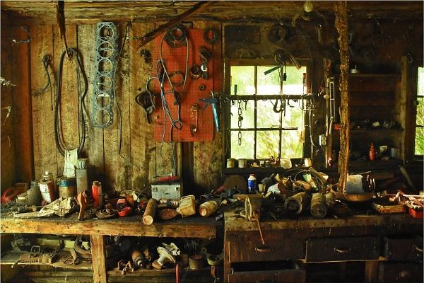 Farm Workshop by MalcolmM