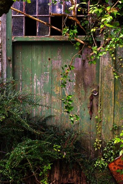 Derelict Door by Grumby