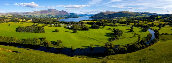 Bassenthwaite view by dunfr