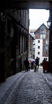 A Grey Edinburgh Day