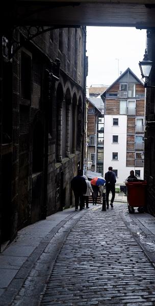 A Grey Edinburgh Day by AJG