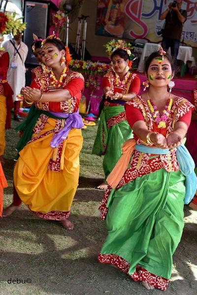 Basant Utsav for Holi(the Festival of colors)..4 by debu