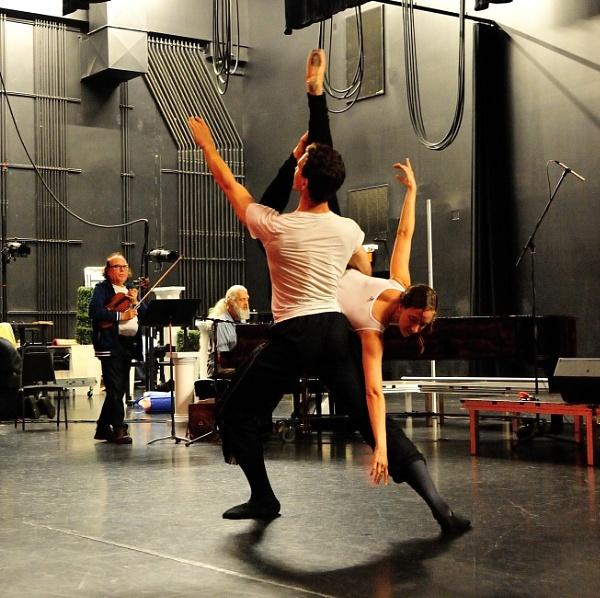 Ballet rehearsal by DouglasMorley