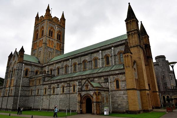 Buckfast abbey by oldham