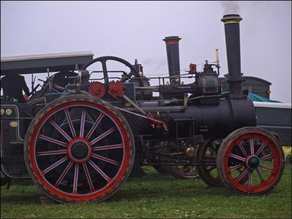 Steam engines at Tredinnick by JuBarney