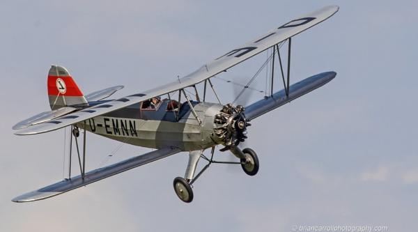 1936 Focke-Wulf Fw-44 Biplane by brian17302