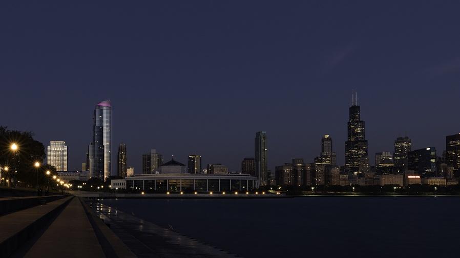 Chicago nightscape....