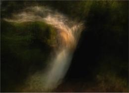 Waterfall, Aira Beck, Ullswater.